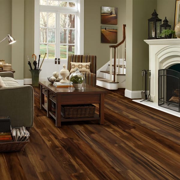Roasted Chicory Laminate Flooring in Living Room