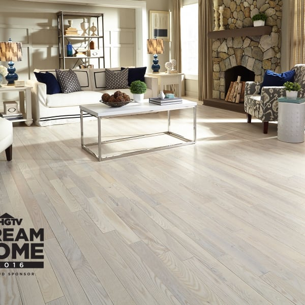 3/4 in. x 3.25 in. Matte Carriage House White Ash Solid Hardwood Flooring