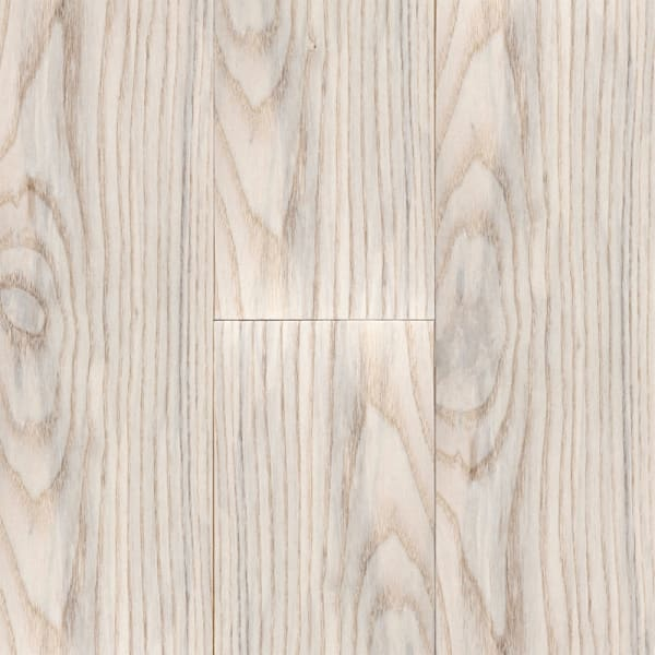 .75 in. x 3 .25 in. Matte Carriage House White Ash Solid Hardwood Flooring Small Swatch