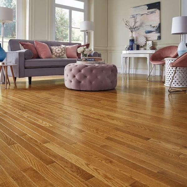 .75 in. x 2 .25 in. Warm Spice Oak Solid Hardwood Flooring