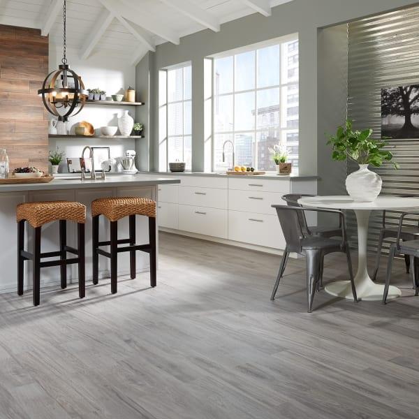 36 in. x 6 in. Oceanside Oak Gray HD Porcelain Tile