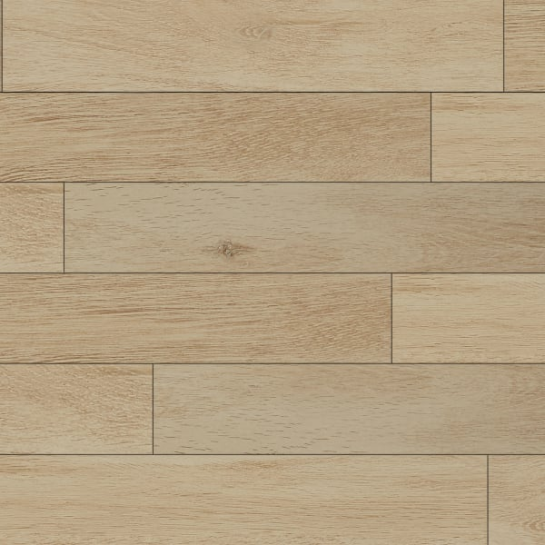 36in x 6in Summer Wheat Oak Porcelain Tile Large Swatch