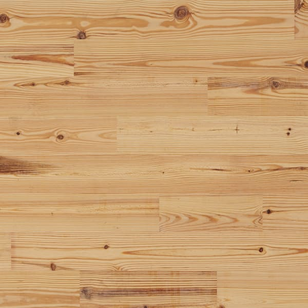 3/4 in. x 5 1/8 in. Select Heart Pine Unfinished Solid Hardwood Flooring
