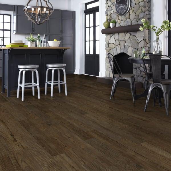 3mm Charcoal Pine Luxury Vinyl Plank Flooring