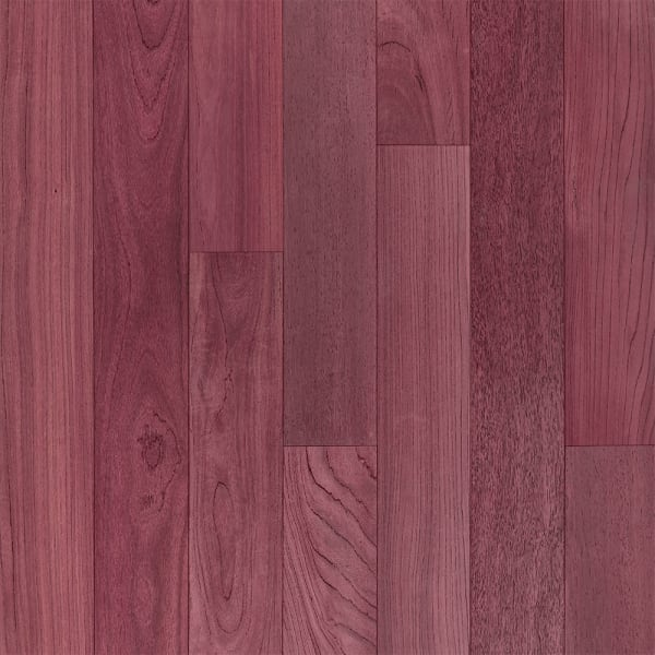 .75 in. x 5 in. Select Purple Heart Solid Hardwood Flooring