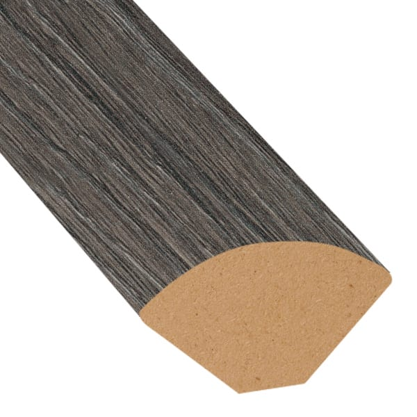 Nordic Fog Oak Laminate 1.075 in wide x 7.5 ft Length X2O Water-Resistant Quarter Round