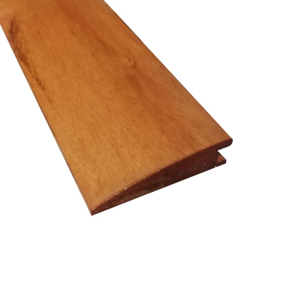 Prefinished Brazilian Koa Hardwood 1/2 in thick x 2 in wide x 78 in Length Reducer