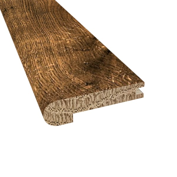 Distressed Willow Manor Oak Hardwood 1/2 in thick x 2.75 in wide x 78 in Length Stair Nose