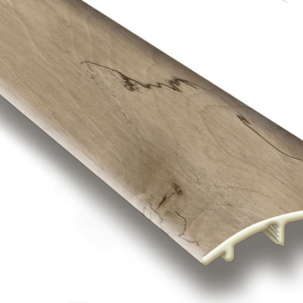 Natural Maple Vinyl Waterproof 1.5 in wide x 7.5 ft Length Reducer