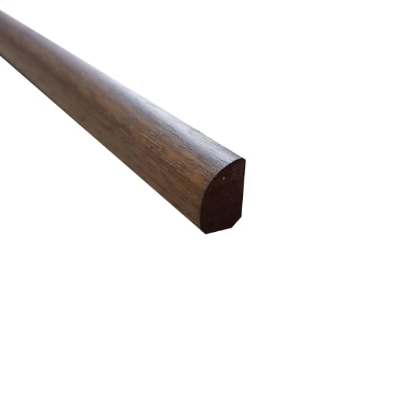 Prefinished Matte Brazilian Chestnut Hardwood 1 2 In Thick X 75 In Wide X 78 In Length Shoe Molding Ll Flooring