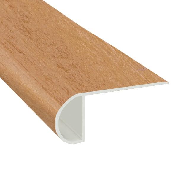Brazilian Koa Vinyl Waterproof 2.25 in wide x 7.5 ft Length Low Profile Stair Nose
