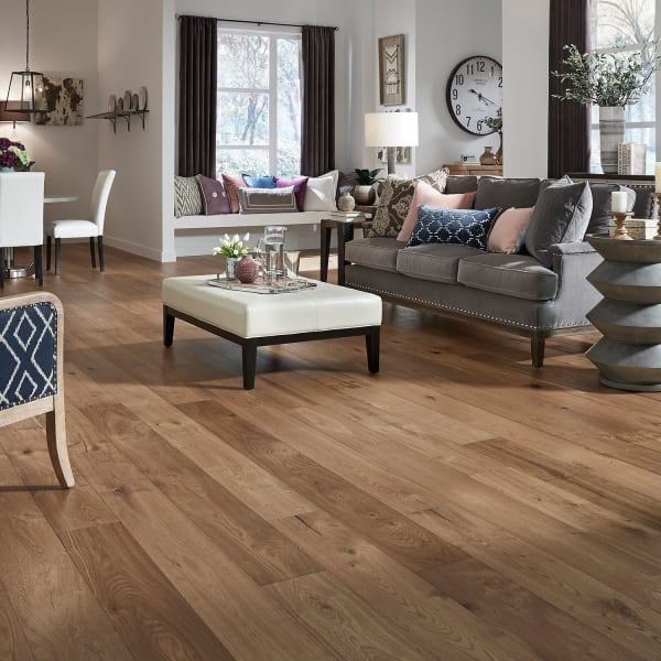 Winchester Oak Engineered Hardwood Flooring in Living Room