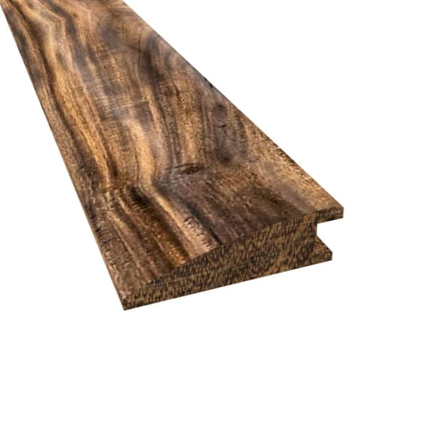 Prefinished Tobacco Road Acacia Hardwood 9/16 in thick x 2 in wide x 78 in Length Reducer