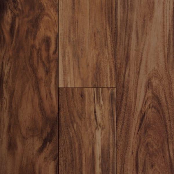 47in x 7in Elegant Wood Acacia Porcelain Tile