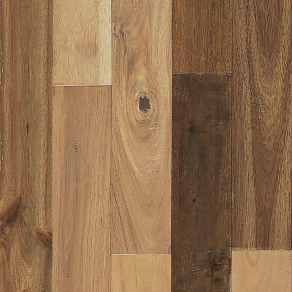 3/4 in. x 3.5 in. Bar Harbor Acacia Distressed Solid Hardwood Flooring