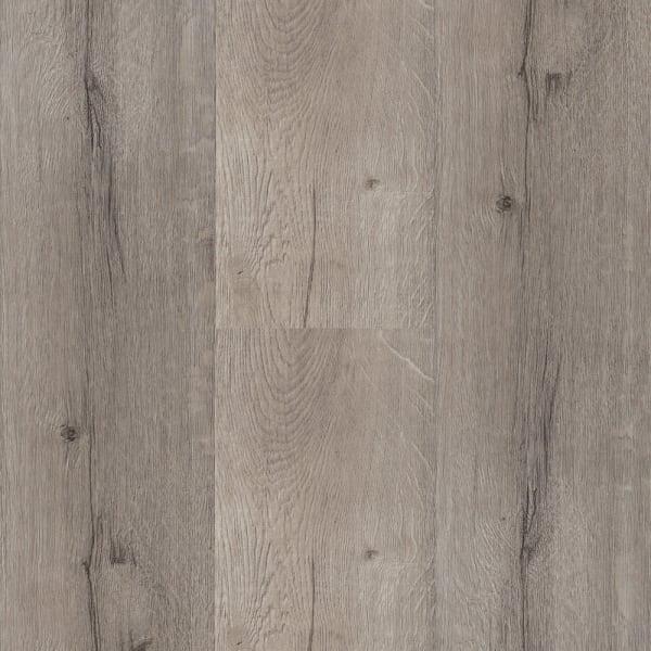 7mm with pad Driftwood Hickory Engineered Vinyl Plank Flooring