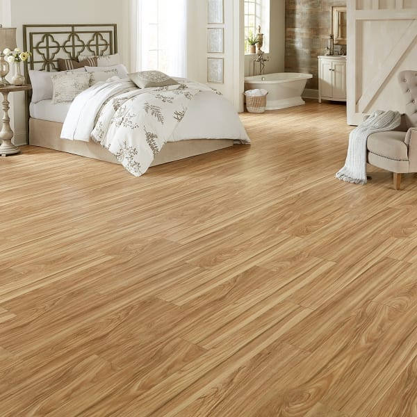 Desert Horizon Elm Laminate Flooring in Bedroom and Playroom