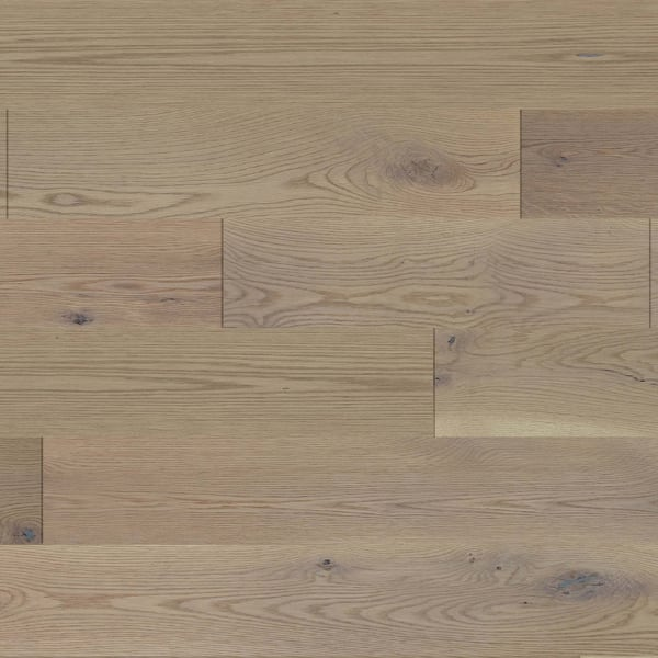 Vienna White Oak Wirebrushed Engineered Hardwood