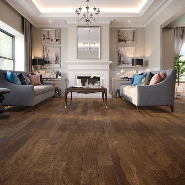 Amarillo Spanish Hickory Engineered Hardwood Flooring