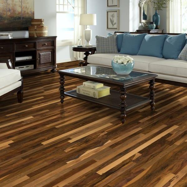 Brazilian Pecan Solid Hardwood in Living Room