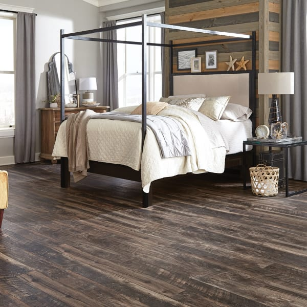 12mm Antique Wood Medley 24 Hour Water-Resistant Laminate Flooring