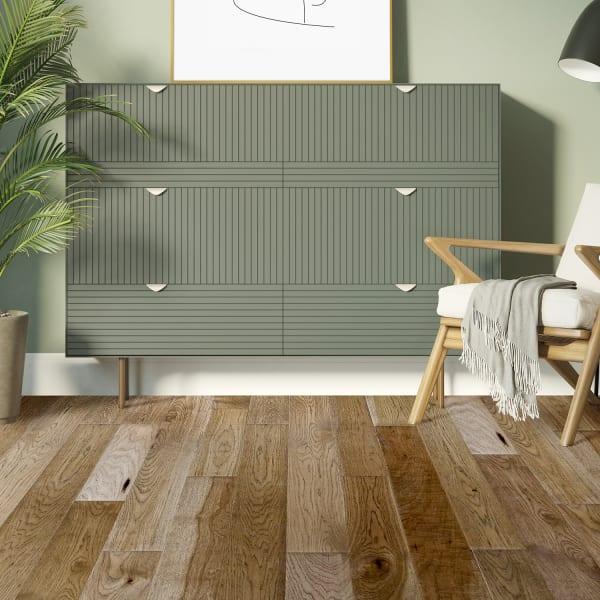 7/16 in. x 5 in. Copper Ridge Hickory Engineered Hardwood Flooring