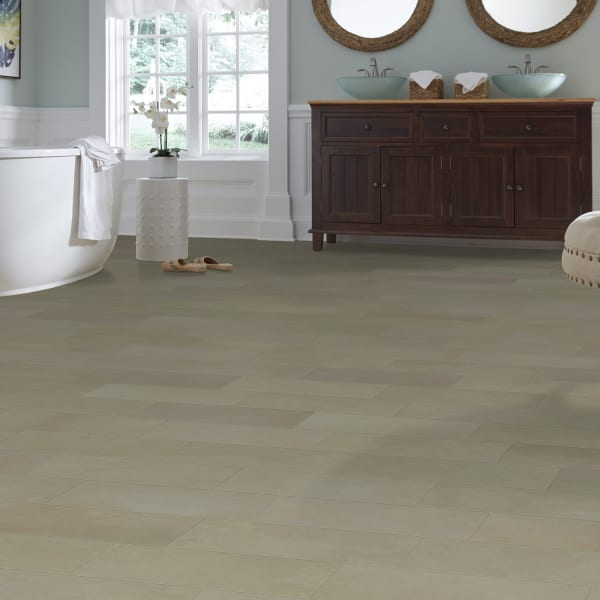 2mm Champagne Travertine Luxury Vinyl Plank Flooring