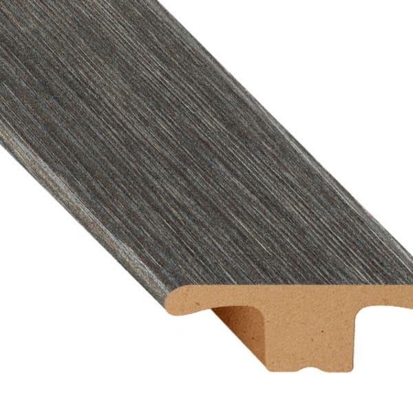 Midnight Oak Laminate Waterproof 1.75 in wide x 7.5 ft Length Low Profile T-Molding