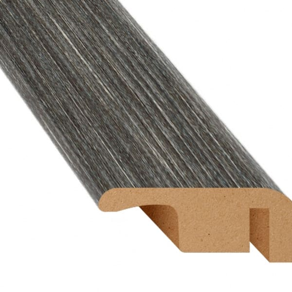 Midnight Oak Laminate Waterproof 1.374 in wide x 7.5 ft Length Low Profile End Cap