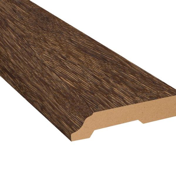 Elusive Brown Oak Laminate 3.25 in wide x 7.5 ft Length Baseboard