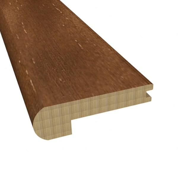 Prefinished Safari Trail Distressed Bamboo 9/16 in thick x 2.25 in wide x 72 in Length Reducer