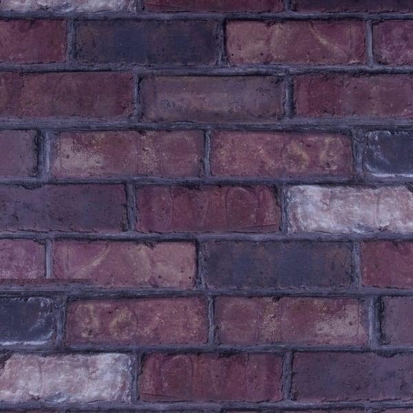 4mm Salem Cellar Brick Engineered Vinyl Plank Flooring Small Swatch