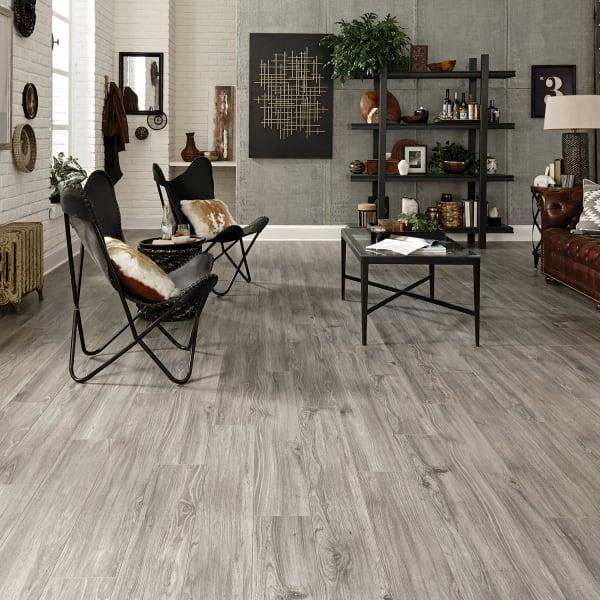 Jamestown Walnut Laminate Flooring in Living Room