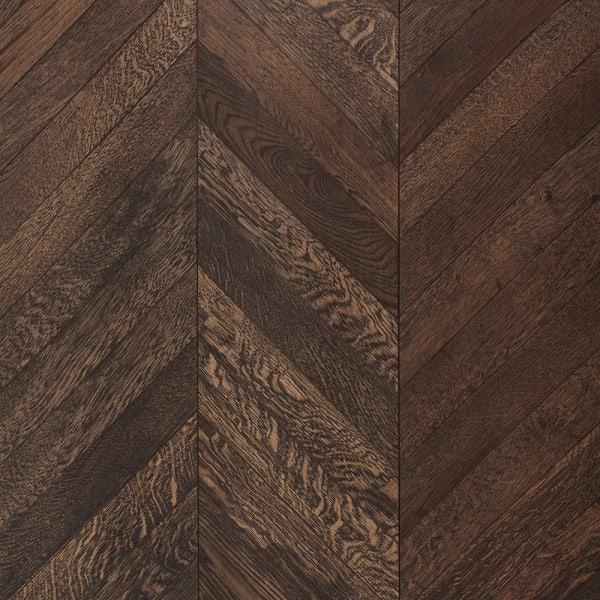 5/8 in. x 11.5 in. Manhattan Chevron Engineered Hardwood Flooring