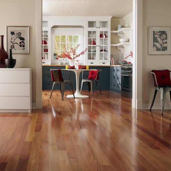 Red Cumaru Solid Hardwood Flooring in Living Room