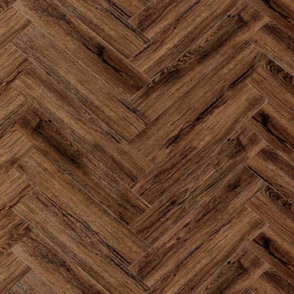 Scottish Amber Hickory Engineered Vinyl Plank Flooring