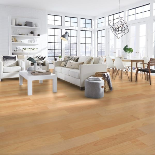6mm Multistrip Oak Laminate Flooring