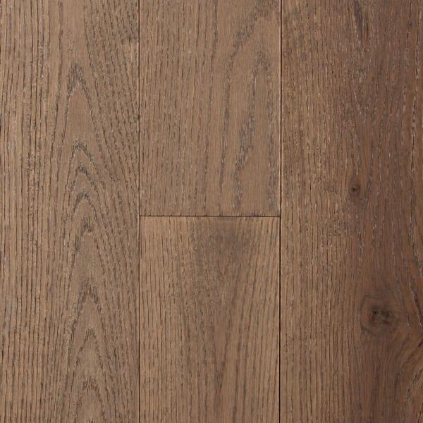 .75 in. x 5 in. Weatherly Oak Solid Hardwood Flooring Swatch
