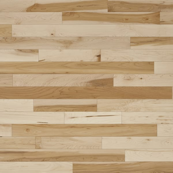 .75 in. x 3 .25 in. Character Maple Solid Hardwood Flooring Large Swatch