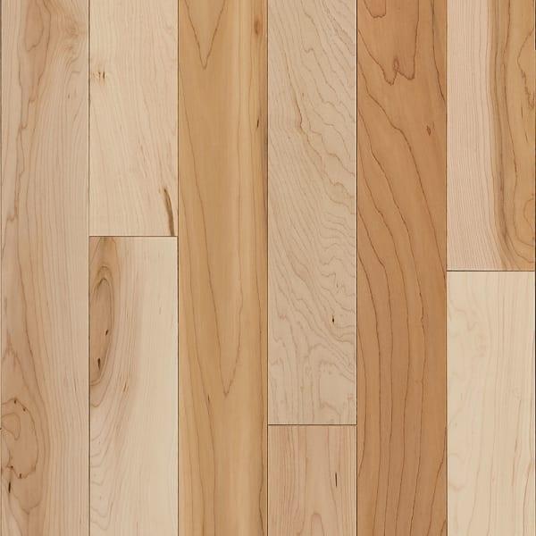 3/4 in. x 3.25 in. Character Maple Solid Hardwood Flooring
