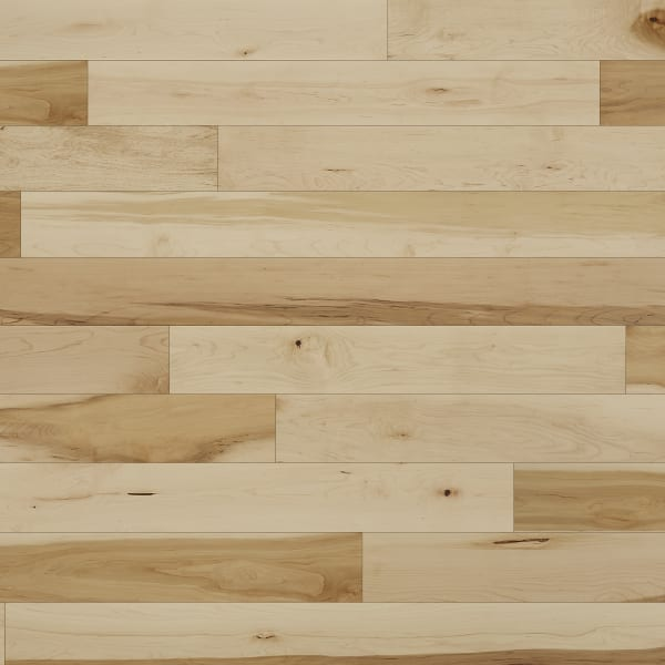 .75 in. x 5 in. Character Maple Solid Hardwood Flooring Large Swatch