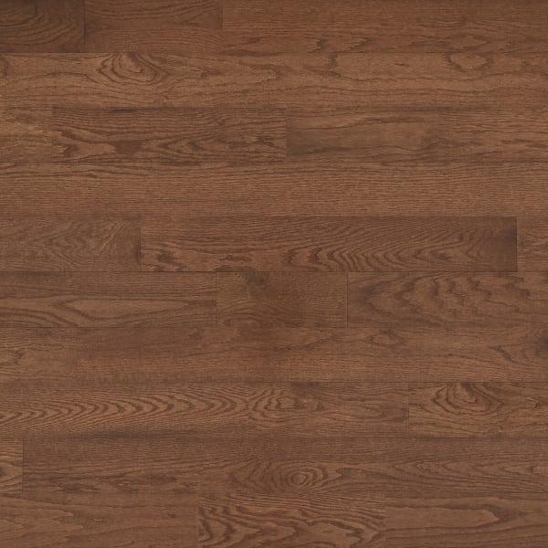 .75 in. x 5 in. Saddle Oak Solid Hardwood Flooring Large Swatch