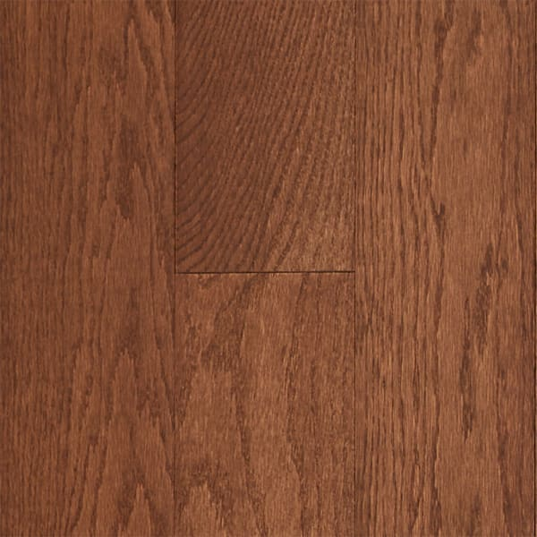 .75 in. x 5 in. Saddle Oak Solid Hardwood Flooring Small Swatch