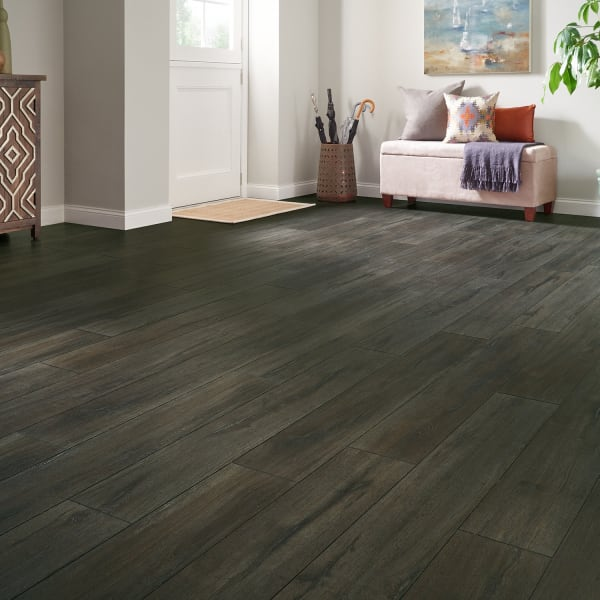 Foggy Bottom Oak Laminate Flooring in Entryway