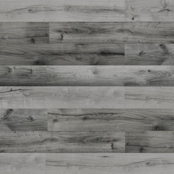 10mm Stockholm Silver Oak High Gloss Laminate Flooring Large Swatch