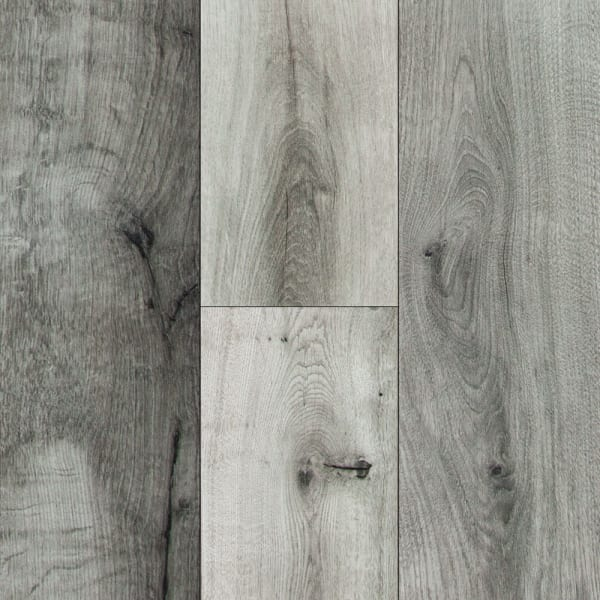10mm Stockholm Silver Oak High Gloss Laminate Flooring Small Swatch