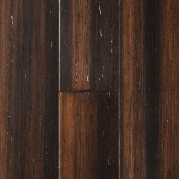 Portland Strand Distressed Wide Plank Solid Bamboo Flooring