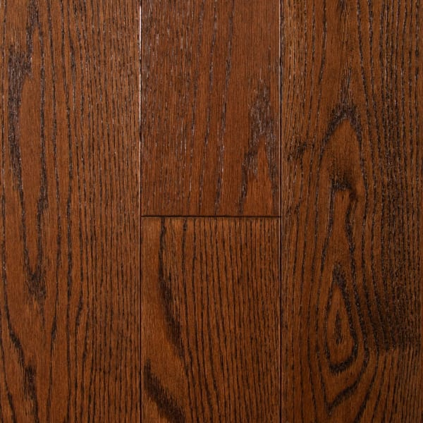 .75 in. x 5 in. Kensington Oak Distressed Solid Hardwood Flooring