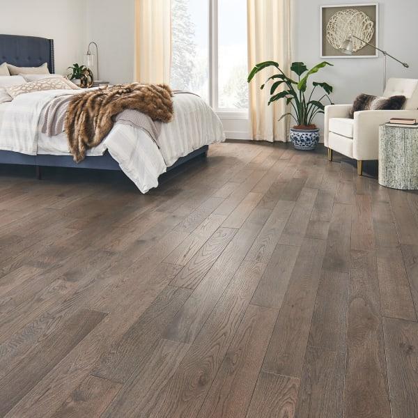 Colchester Oak Solid Hardwood Flooring in Bedroom