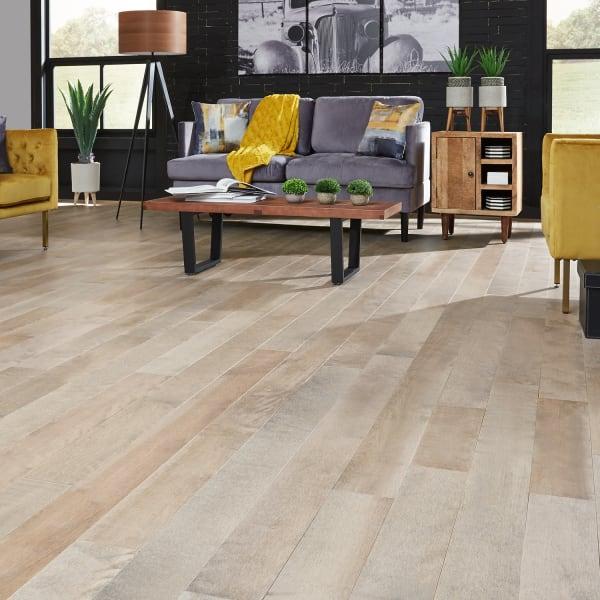 .75 in. x 5 .25 in. Berkshire Distressed Solid Hardwood Flooring
